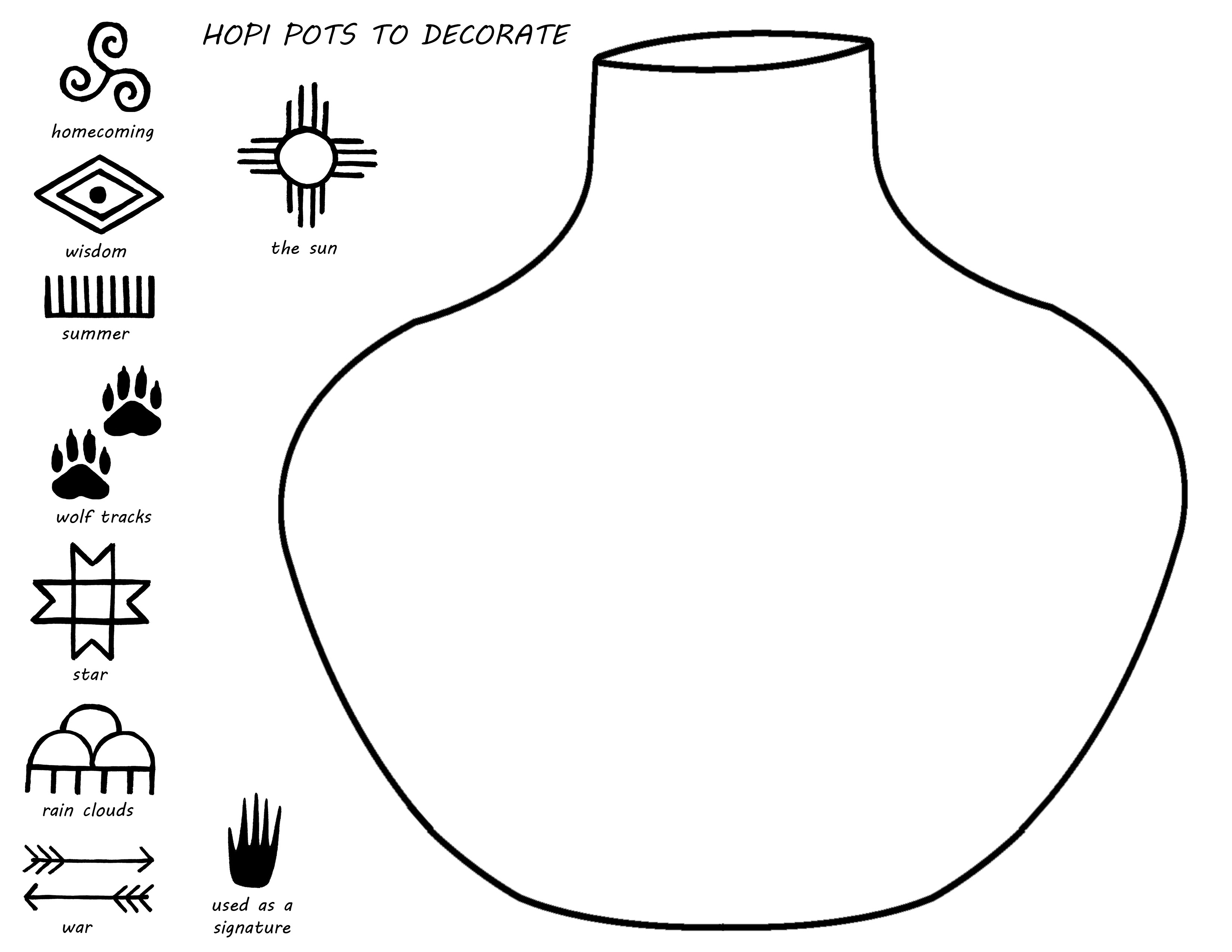 Hopi pottery symbols gallery symbol and sign ideas coloring pages native american pottery coloring pages native american pottery photo16 buycottarizona buycottarizona