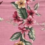 Pink Diei Barkcloth